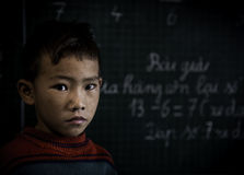 Child school. Nepal Vietnam child young learning Royalty Free Stock Photo