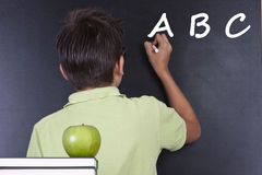 Child in school Royalty Free Stock Image