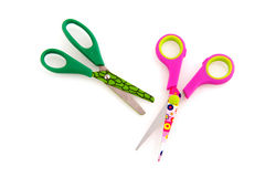 Child scissors Stock Photos