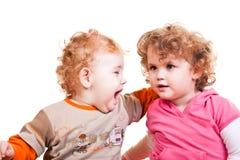 Child scream Stock Images