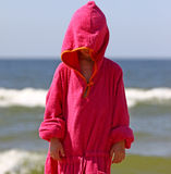 Child by the sea Royalty Free Stock Photography