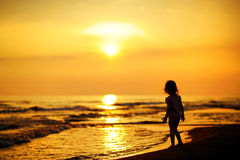 A child by the sea Royalty Free Stock Photography