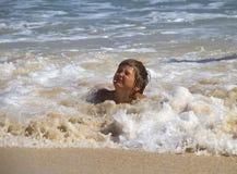 Child and sea Stock Photos