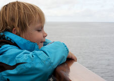 Child at sea Stock Photos