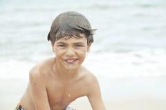 Child on a sea Stock Photos