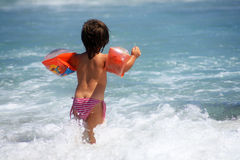 Child and sea Royalty Free Stock Photo