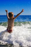 Child and the sea Royalty Free Stock Photography