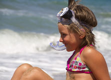 Child sea Stock Photo