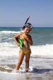 Child sea Stock Photography