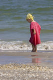 Child at the sea side Stock Photo