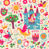 Child seamless pattern Stock Images
