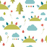 Child seamless pattern. Royalty Free Stock Photography