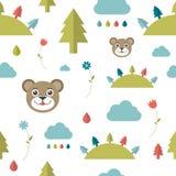 Child seamless pattern. Stock Image