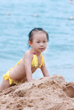 child by the seaside Stock Image