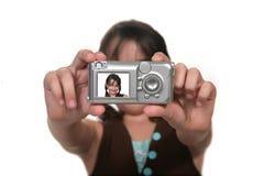 Child Self Portrait Stock Images