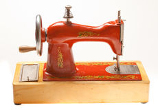 Child sewing machine Stock Images