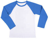 Child shirt. Isolated on a white background Stock Image