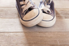 Child shoe Royalty Free Stock Images