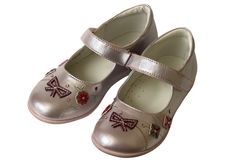 Child shoes Stock Photo