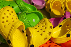 Child shoes Stock Image