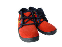 Child shoes Royalty Free Stock Photo