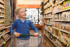 Child shopping Royalty Free Stock Photo