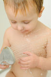 Child shower Royalty Free Stock Photos