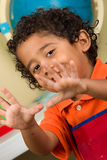 Child Showing Both Hands Stock Image