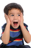 Child Showing Surprise Stock Photography