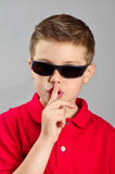 Child silencing Royalty Free Stock Image