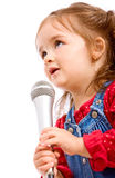 Child singer Royalty Free Stock Photography