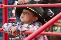 Child at the Sisters, Oregon Rodeo 2011 Royalty Free Stock Photography