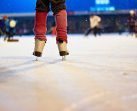 Child on Skates. Photograph of a child on skates Stock Images