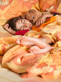 Child sleep Stock Images
