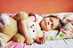 The child sleep. Stock Images