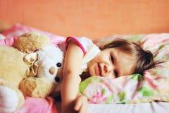 The child sleep. Stock Photo