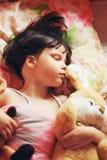 The child sleep. Royalty Free Stock Photography