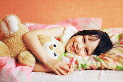 The child sleep. Royalty Free Stock Images
