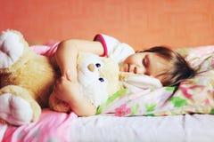 The child sleep. Stock Photos