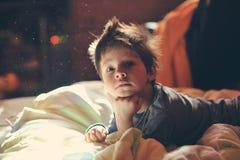 Child awake Stock Photography