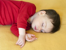 Child sleeping Royalty Free Stock Photo