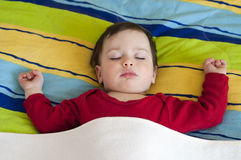 Child sleeping Royalty Free Stock Images