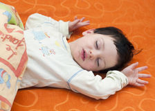 Child sleeping Royalty Free Stock Photos