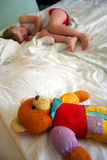 Child sleeping Stock Images