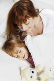 Child sleeping Stock Photography