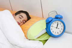 Child sleeping Royalty Free Stock Photography