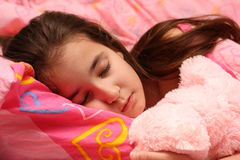 The child sleeps Stock Photography