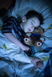 Child sleeps Royalty Free Stock Images