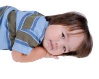 Child sleepy Royalty Free Stock Image