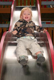 Child slide play royalty free stock photo